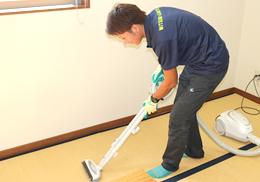 簡易清掃作業